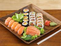 Combinado sólo salmón (24 piezas)