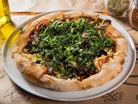 Pizza BBQ espinash (vegetariana y vegana)