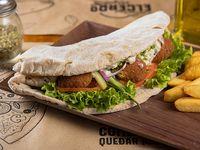 Sándwich falafel