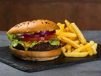 Combo - The Wolf burger + acompañamiento + bebida