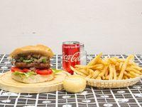 Hamburguesa Agus Burguer + Coca Cola 222 ml