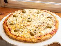 Pizza 4 quesos grande