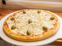 Pizza con cebolla grande