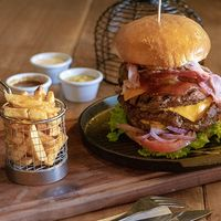 Monster ranch burger