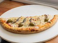 Media pizza con anchoas