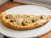 Media pizza con cebolla