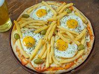 Pizza al molde  grande cochina