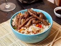 Wok con Carne