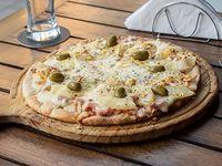 Pizza de ananá a la piedra