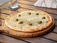 Pizza de provolone a la piedra