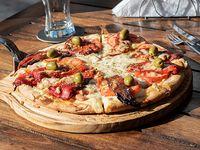 Pizza gran shark a la piedra