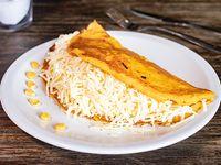 Cachapa de queso (arepa de choclo)