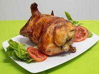 Pollo entero a la brasa