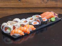Caja combinada de salmón (18 piezas)
