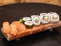 Caja combinada de salmón (12 piezas)