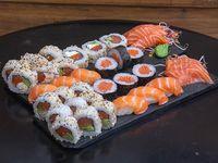 Caja combinada de salmón (36 piezas)