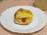 Canastita de jamón y ananá