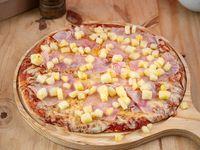 Pizzeta hawaiana