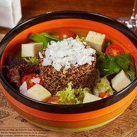 Ensalada de quinoa a la cabra