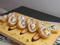 Tempura sake roll (8 piezas)