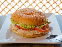 Sándwich de pollo italiano