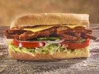 Sándwich Carne BBQ