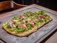 Pizza con rúcuka