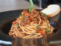 Spaguettis en Salsa Bolognesa