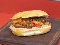 Sándwich de chorizo matador