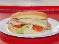 Sándwich de pechuga la Wanda