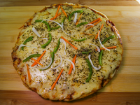 Pizzeta vegetariana
