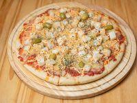 Pizza de palmito (8 porciones)