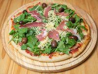 Pizza de rúcula (8 porciones)