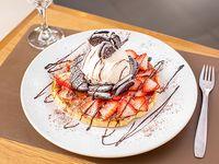Waffle de Oreo