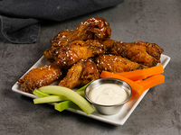 Whisky chicken wings