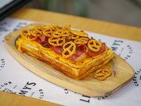 Waffle pretzel + Coca-Cola 350 ml