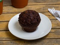 Muffin de tres chocolates