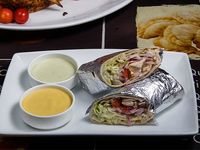 Shawarma de pollo (a la brasa peruano)