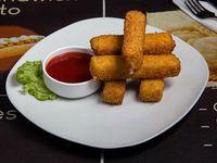 Dedos de muzzarella con salsa (5 unidades)