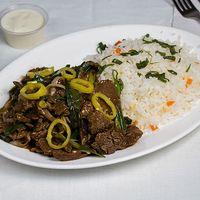 Colación de carne mongoleana