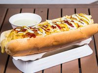 Hot dog colombiano