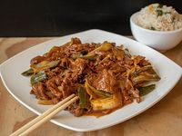 Colación de carne mongoliana