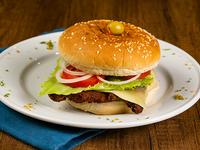 Hamburguesa premium de pollo