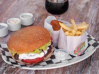 Promo hamburguesa Nº 1o