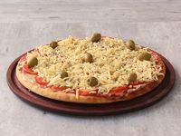 Pizza napolitana con provolone