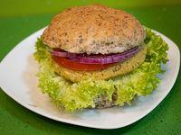 Sándwich tradicional vegano