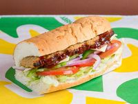 Subway de costillas BBQ (15 cm)