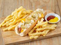 American Dog con fritas