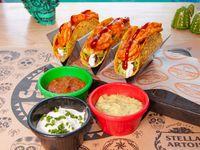Tacos Ind. Camarones