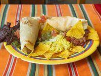 Burritos vegetarianas (2 unidades)